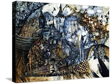 Indigo Fish-Oxana Zaika-Stretched Canvas Print
