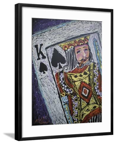 King Spades 001-Rock Demarco-Framed Art Print