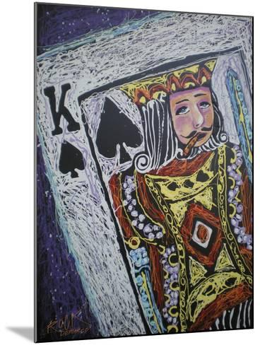 King Spades 001-Rock Demarco-Mounted Giclee Print