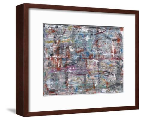Julibee Series Triptych 1- Sona-Framed Art Print