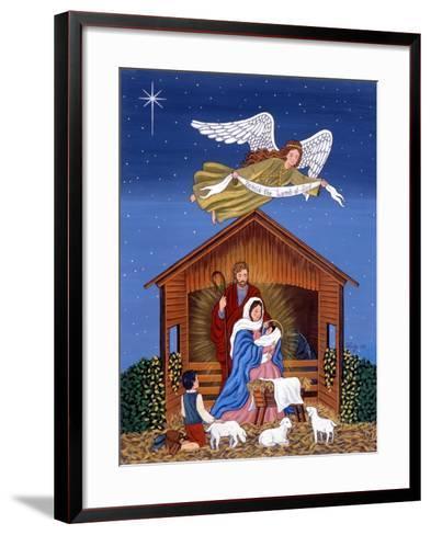 Primitive Nativity-Sheila Lee-Framed Art Print