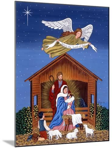 Primitive Nativity-Sheila Lee-Mounted Giclee Print