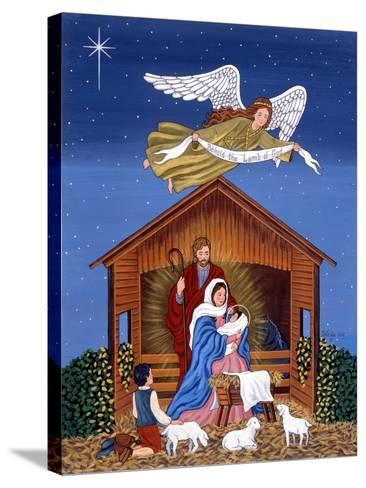 Primitive Nativity-Sheila Lee-Stretched Canvas Print