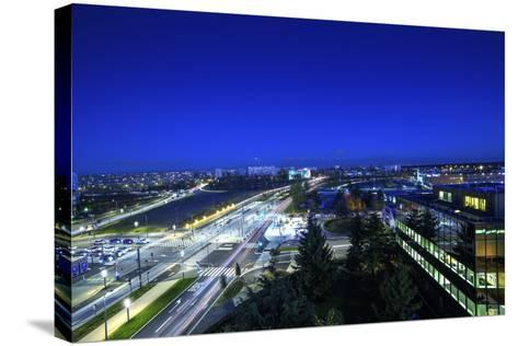 Roof Velizy-Sebastien Lory-Stretched Canvas Print