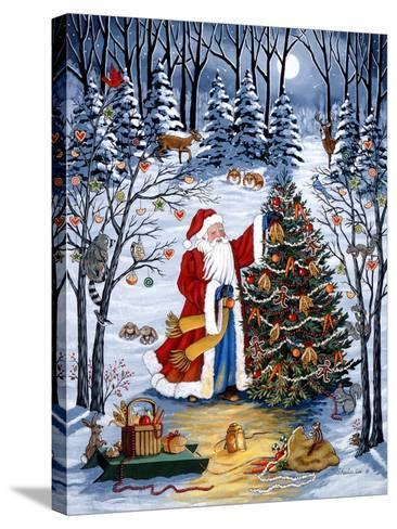 Northwoods Christmas-Sheila Lee-Stretched Canvas Print