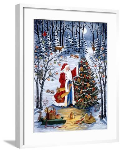 Northwoods Christmas-Sheila Lee-Framed Art Print