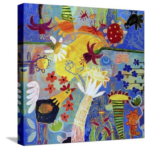 Garden Gazing-Sara Catena-Stretched Canvas Print