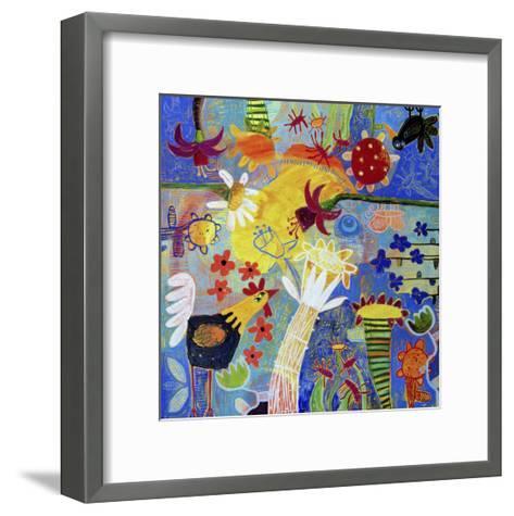 Garden Gazing-Sara Catena-Framed Art Print