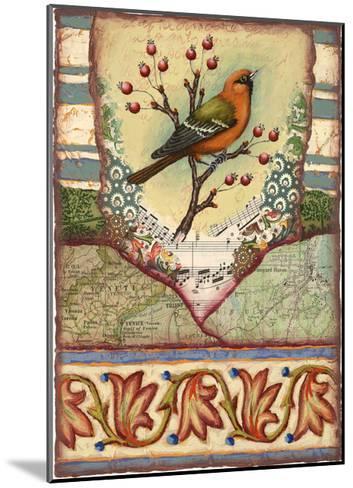 Tisbury Bird-Rachel Paxton-Mounted Giclee Print