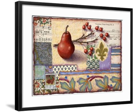 Florentine Pear-Rachel Paxton-Framed Art Print