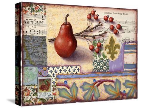 Florentine Pear-Rachel Paxton-Stretched Canvas Print