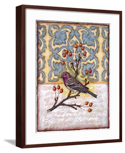 Chilmark Finch-Rachel Paxton-Framed Art Print