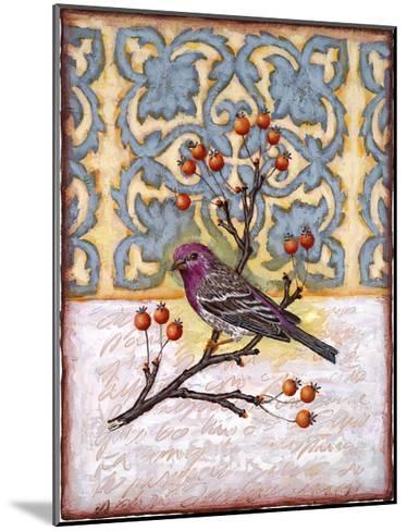 Chilmark Finch-Rachel Paxton-Mounted Giclee Print