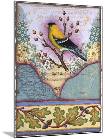 Goldfinch-Rachel Paxton-Mounted Giclee Print