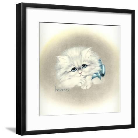Bluer Than Blue-Peggy Harris-Framed Art Print