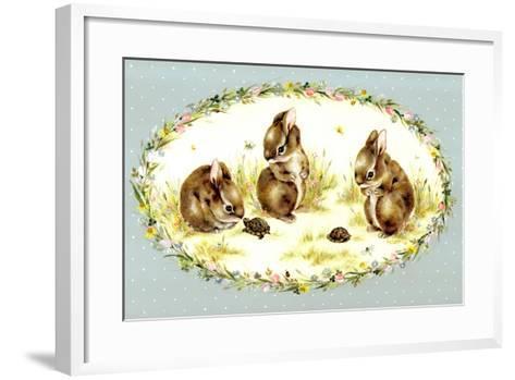 Bunny Tales-Peggy Harris-Framed Art Print