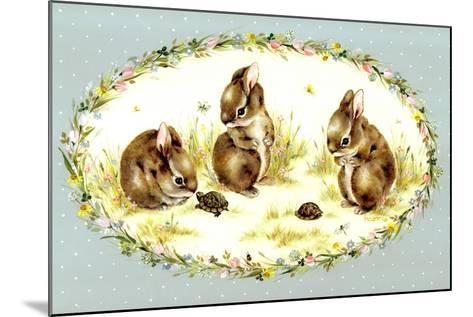 Bunny Tales-Peggy Harris-Mounted Giclee Print