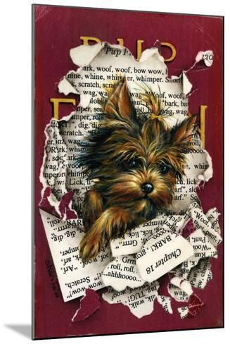 Pup Fiction-Peggy Harris-Mounted Giclee Print