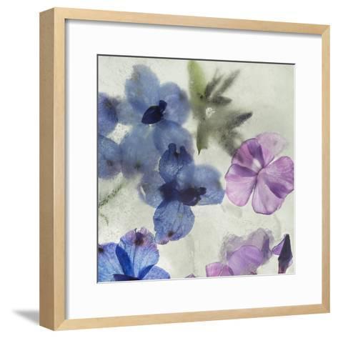 Flores en Hielo I-Moises Levy-Framed Art Print