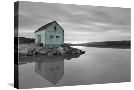 My Place BW 1 - Pop-Moises Levy-Stretched Canvas Print