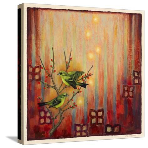 Sunset Birds-Rachel Paxton-Stretched Canvas Print