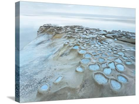 Crateres Color-Moises Levy-Stretched Canvas Print