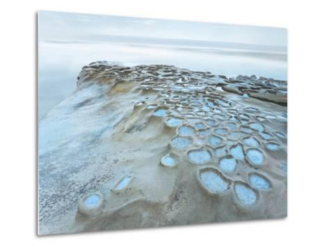 Crateres Color-Moises Levy-Metal Print