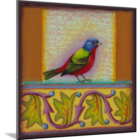 Painted Bunting-Rachel Paxton-Mounted Giclee Print