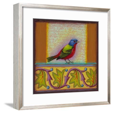 Painted Bunting-Rachel Paxton-Framed Art Print