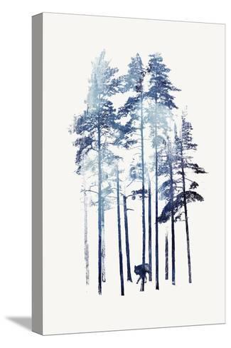 Winter Wolf-Robert Farkas-Stretched Canvas Print