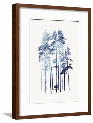 Winter Wolf-Robert Farkas-Framed Art Print