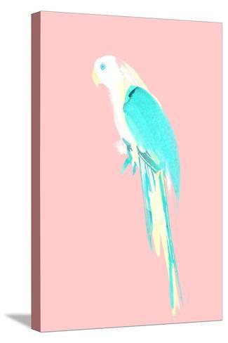 Summer Parrot-Robert Farkas-Stretched Canvas Print