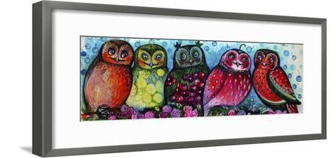 Owls-Oxana Zaika-Framed Art Print