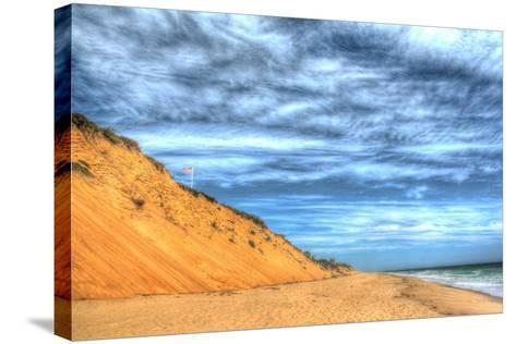 Cape Cod Dune and Colors 2-Robert Goldwitz-Stretched Canvas Print