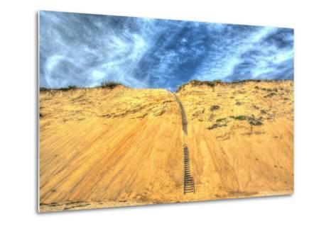 Cape Dune and Stairst-Robert Goldwitz-Metal Print