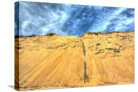 Cape Dune and Stairst-Robert Goldwitz-Stretched Canvas Print