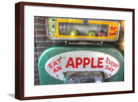 Apple Dispenser-Robert Goldwitz-Framed Art Print