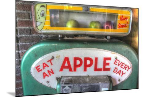 Apple Dispenser-Robert Goldwitz-Mounted Giclee Print