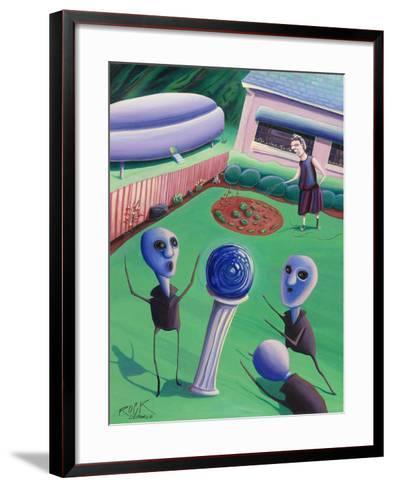 The Day Grandma Ruled the Universe-Rock Demarco-Framed Art Print