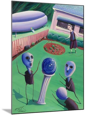 The Day Grandma Ruled the Universe-Rock Demarco-Mounted Giclee Print