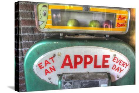 Apple Dispenser-Robert Goldwitz-Stretched Canvas Print
