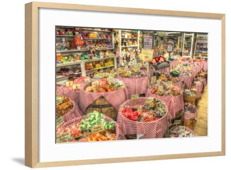 Candy Store-Robert Goldwitz-Framed Art Print