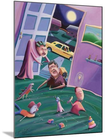 The Accidental Creation of Miniature Golf-Rock Demarco-Mounted Giclee Print