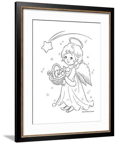 Under the Christmas Star-Olga And Alexey Drozdov-Framed Art Print