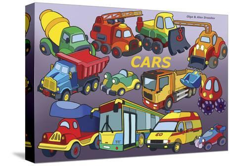 Cars-Olga And Alexey Drozdov-Stretched Canvas Print