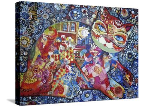 Venice Cat-Oxana Zaika-Stretched Canvas Print