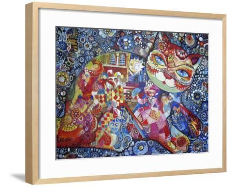 Venice Cat-Oxana Zaika-Framed Art Print