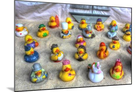 Rubber Duckies-Robert Goldwitz-Mounted Giclee Print