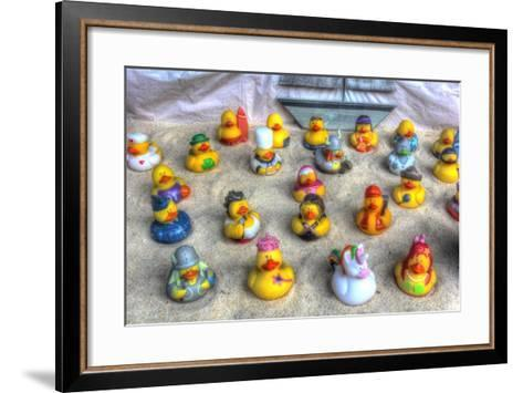 Rubber Duckies-Robert Goldwitz-Framed Art Print