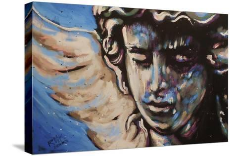 Rock Angel-Rock Demarco-Stretched Canvas Print